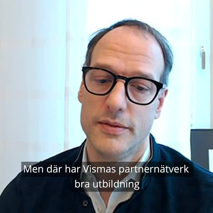 Ted Gabrielson, Svenska Kennelklubben om Visma.net