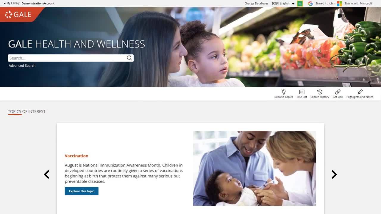 Gale Health and Wellness - Finding Trustworthy Medical Information Thumbnail