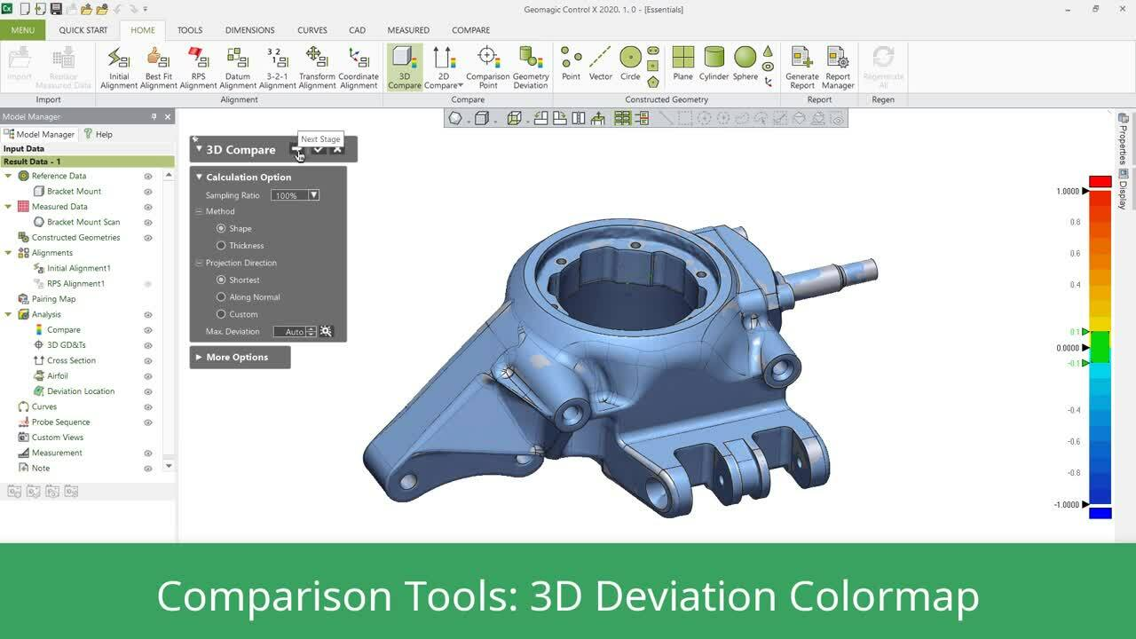 Geomagic Control X 3d Inspection And Metrology Software