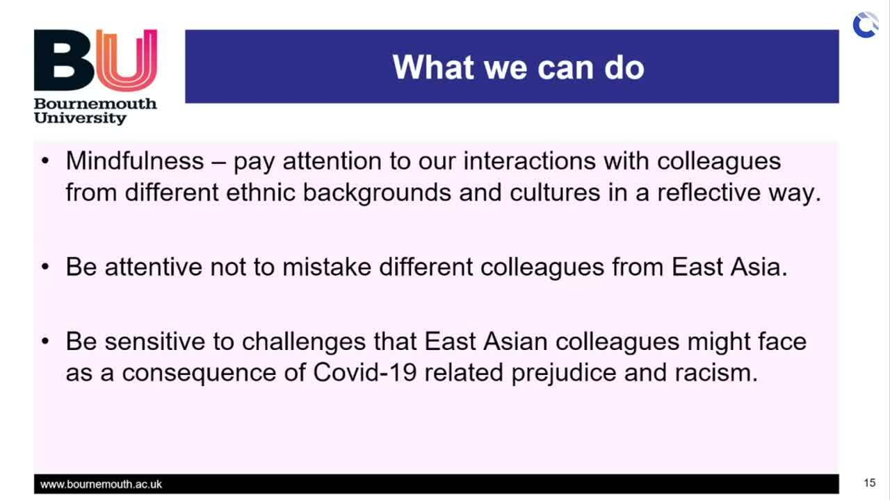 What we can do - Dr Lim