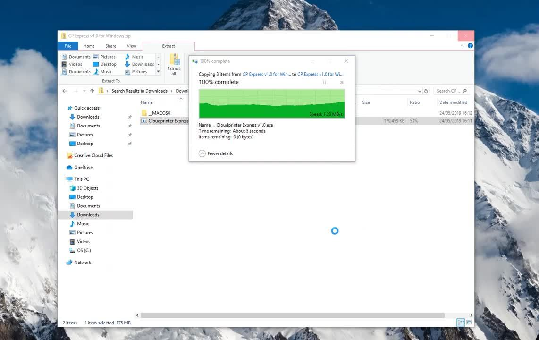 Install Express Windows