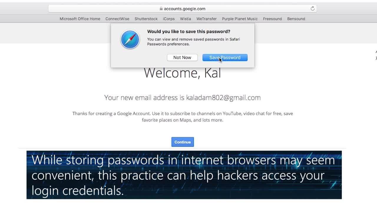 Cyber QuickTips - Passwords in Browser