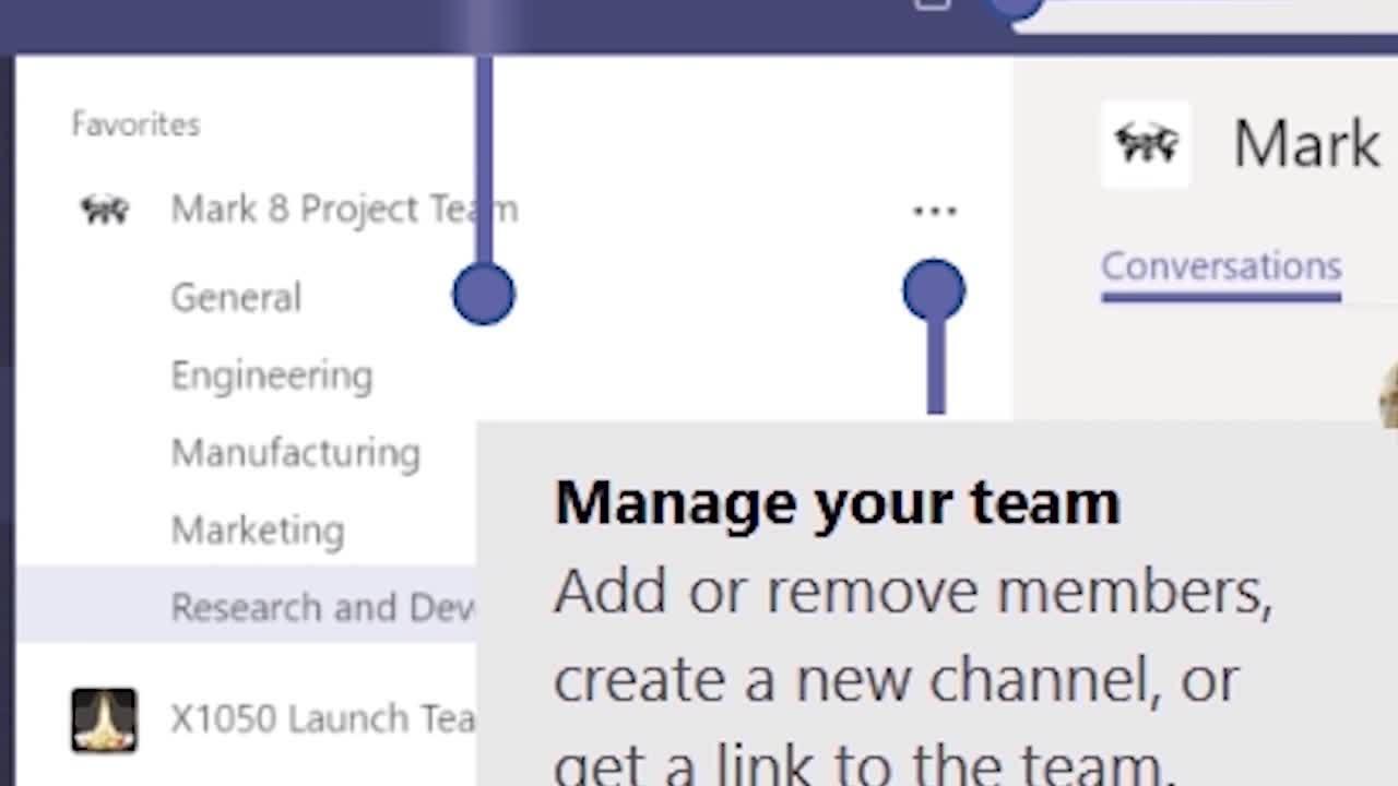 Tour of Microsoft Teams
