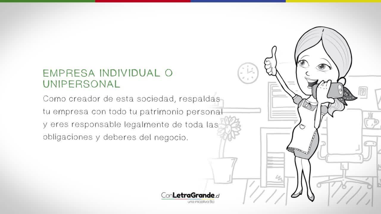 Las empresas que puedes constituir como persona natural en Chile (1)