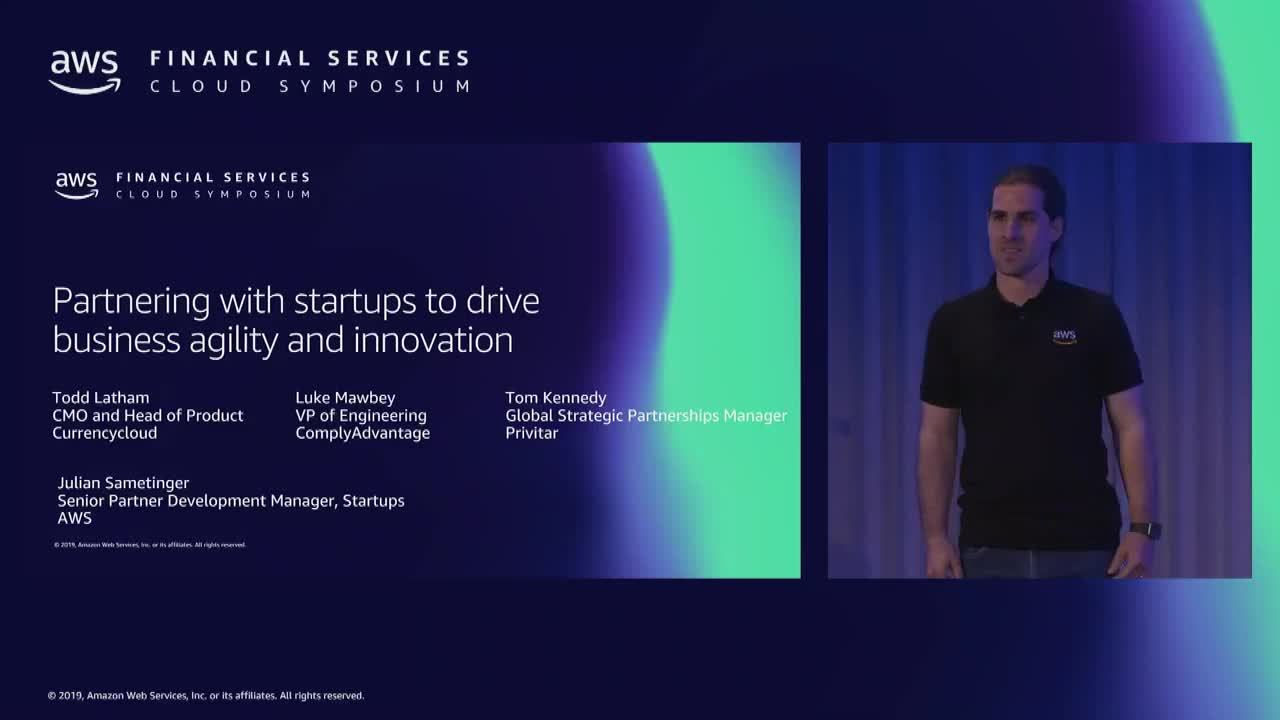 Partnering with Startups to drive business agility and innovation