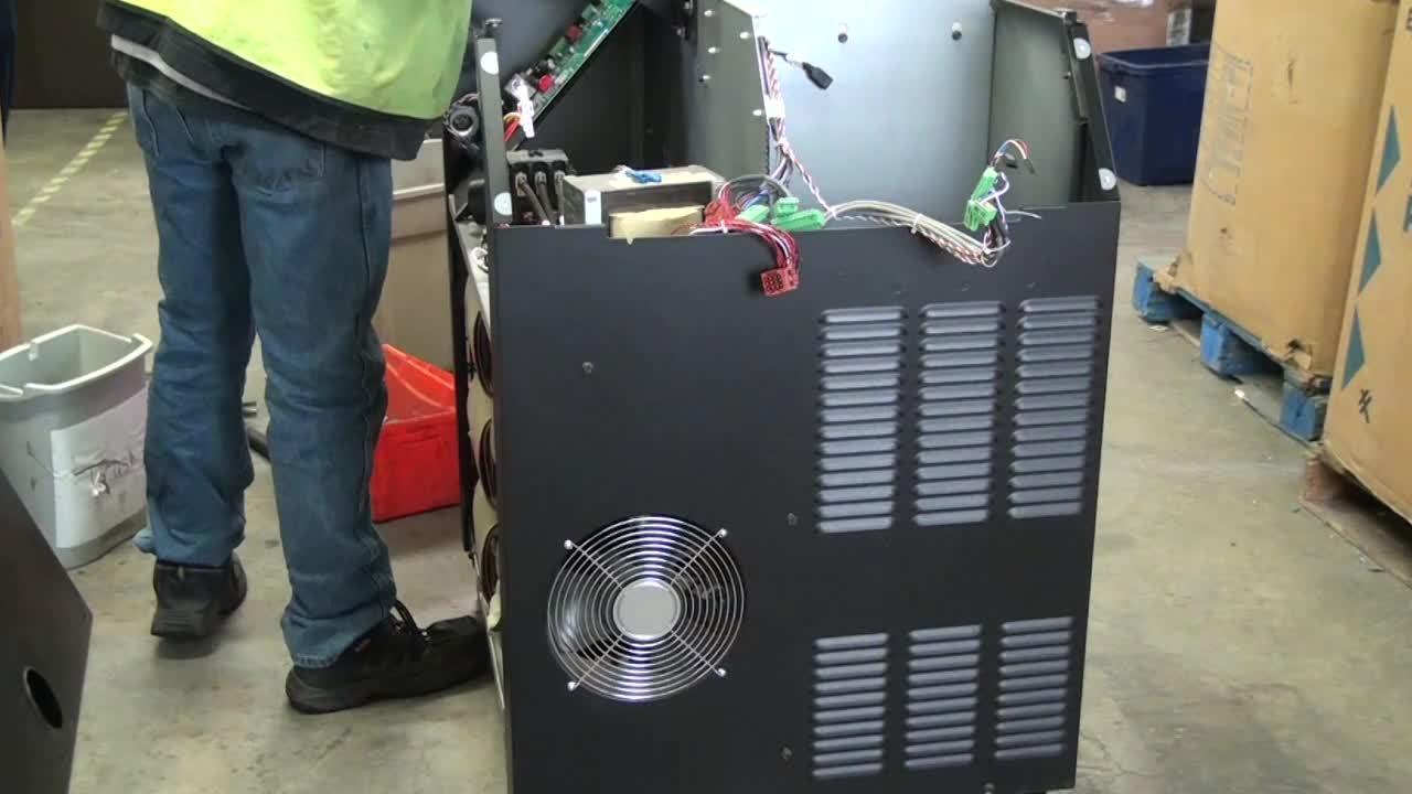 MAXPRO - Control panel, large fan, resistors