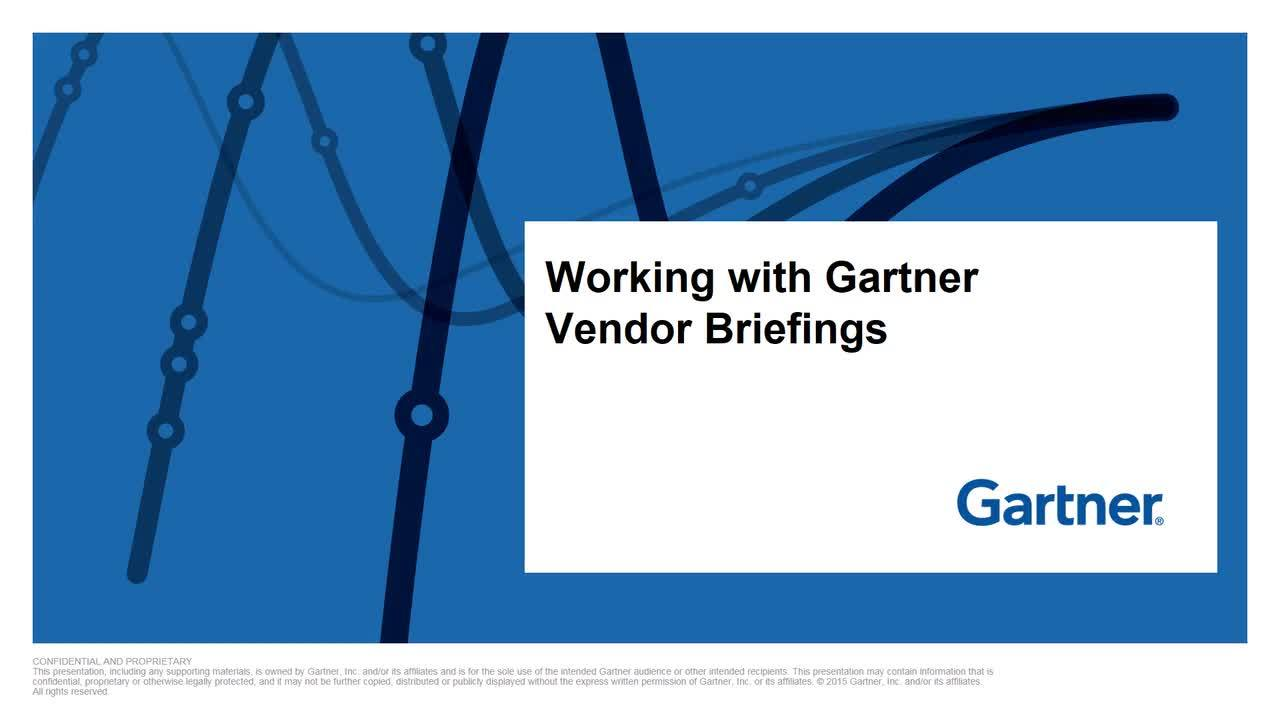 The Value of Gartner Event Sponsorship