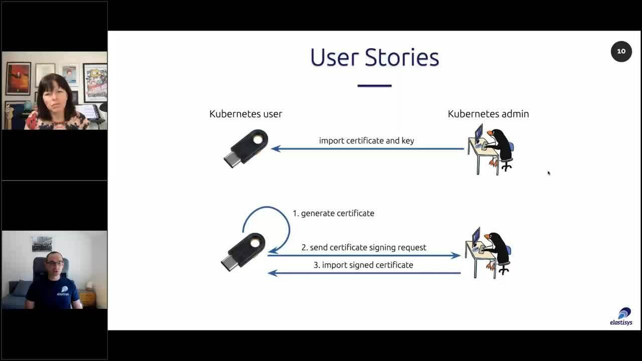 KubeSec_Online_kubectl support for PKCS 11_Soundbyte