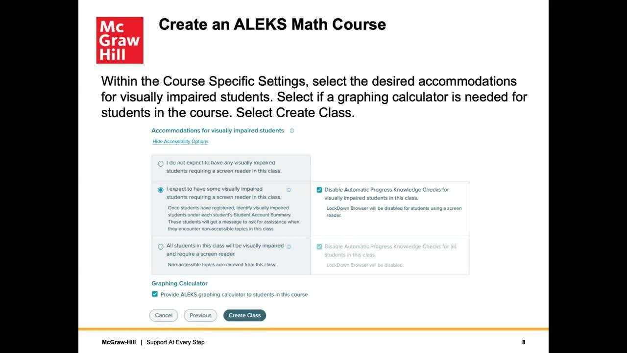ALEKS—Building a Math Course