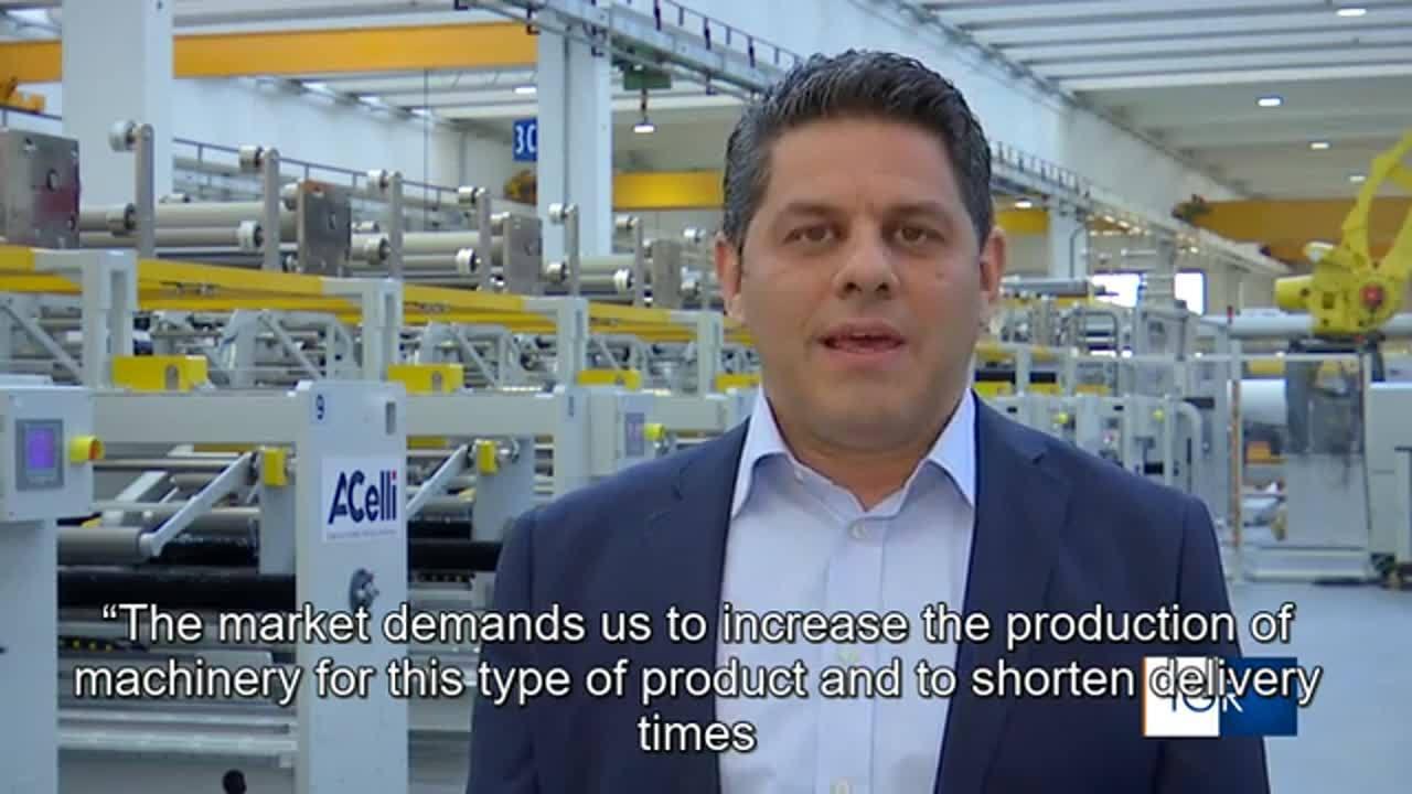 SUB ENG La fabbrica dei tessuti di protezione - Economia & Lavoro