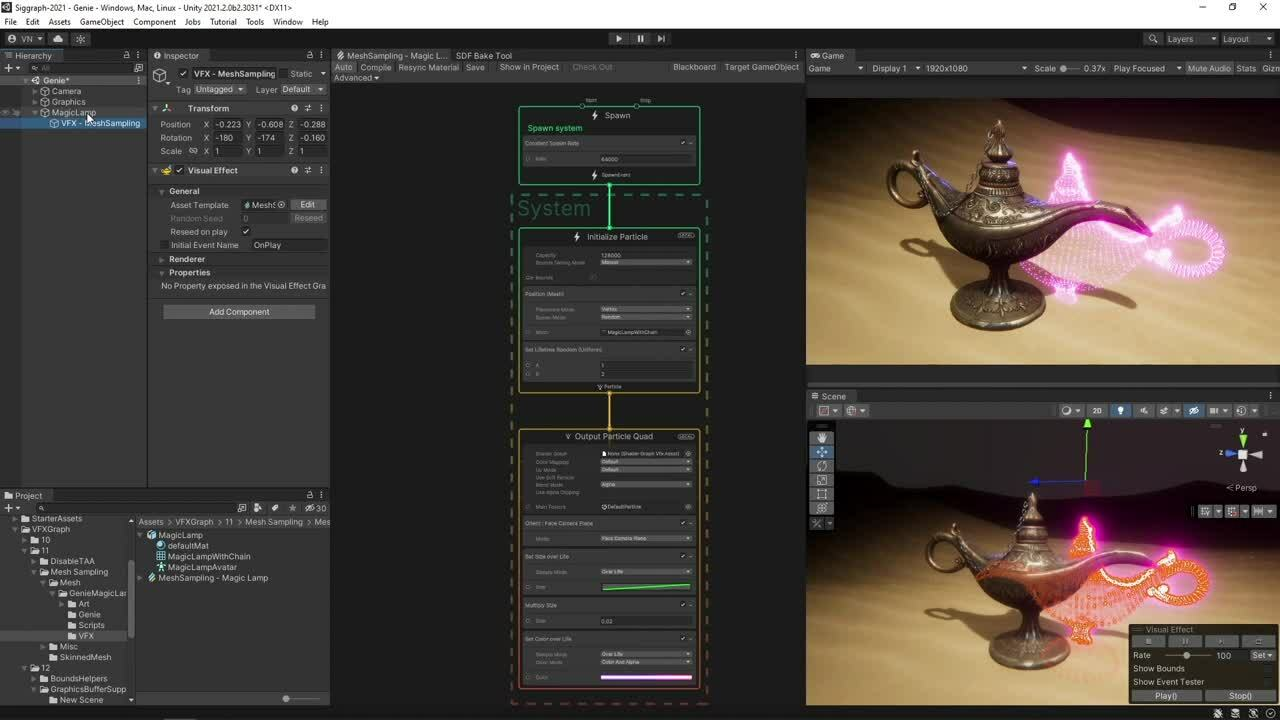 The Power for Artists to Create: Unity's Visual Effect Graph