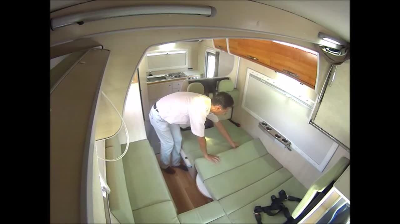 コルドリーブス ベッド展開方法