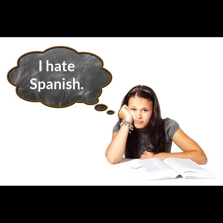 I hate Spanish (Made by Headliner)