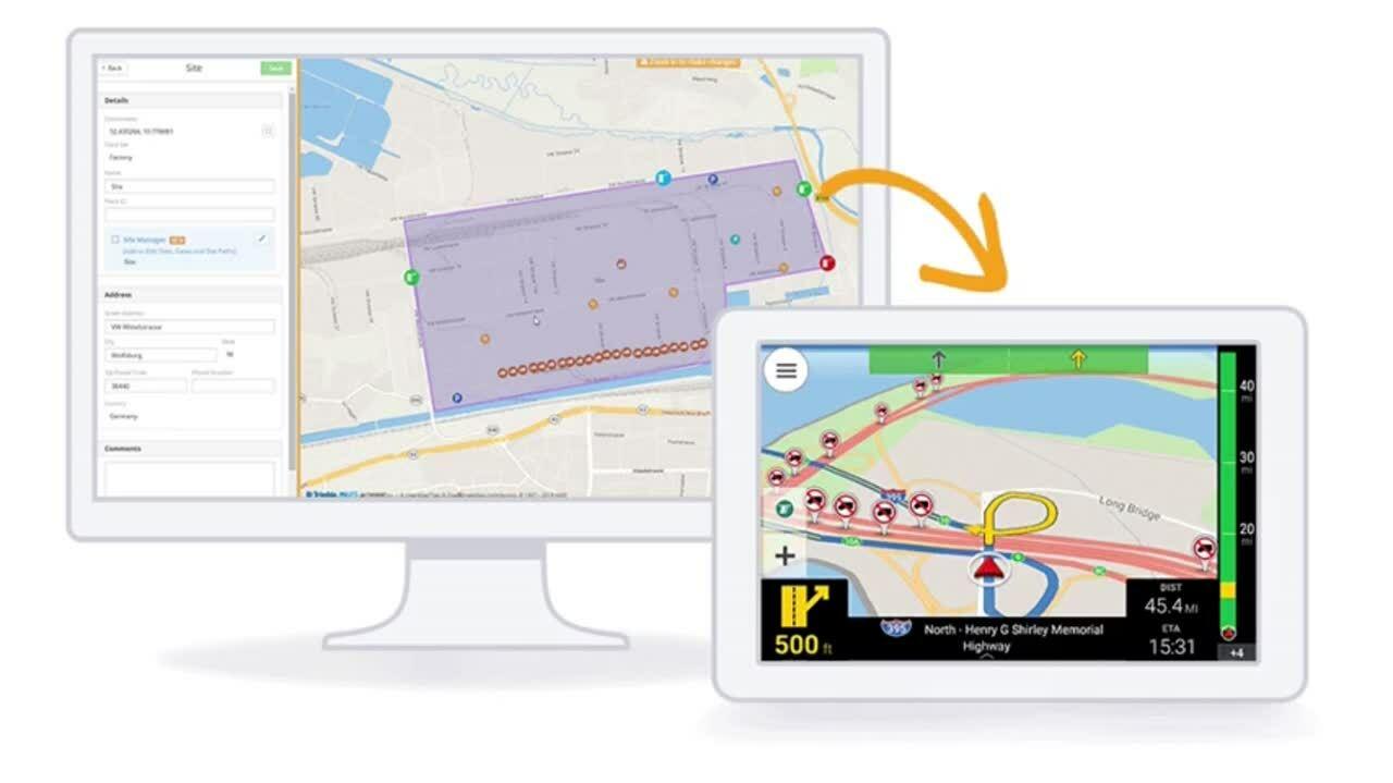 Navigation and maps gif