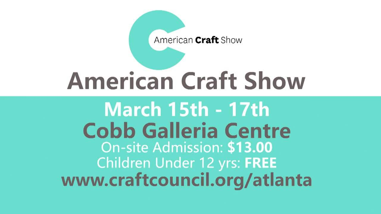 Final_15 AMERICAN CRAFT SHOW Commercial update030119_GREENonlyREDO