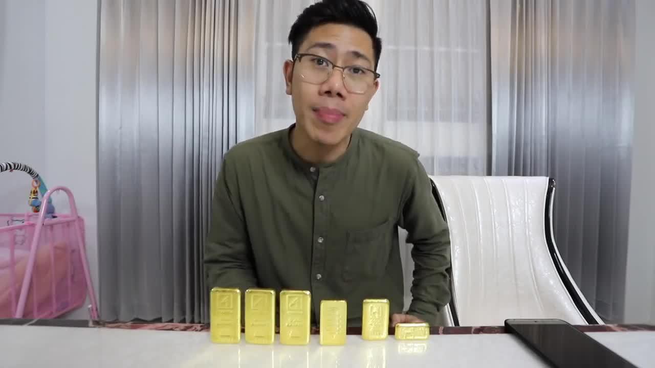 ซื้อจริง!! ทองคำ 1 กิโล รีวิวการลงทุนแบบจัดเต็ม!