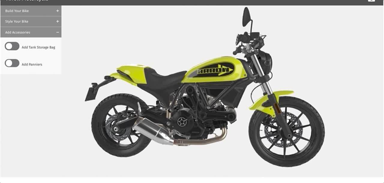 Motorcycle Accessories Configurator