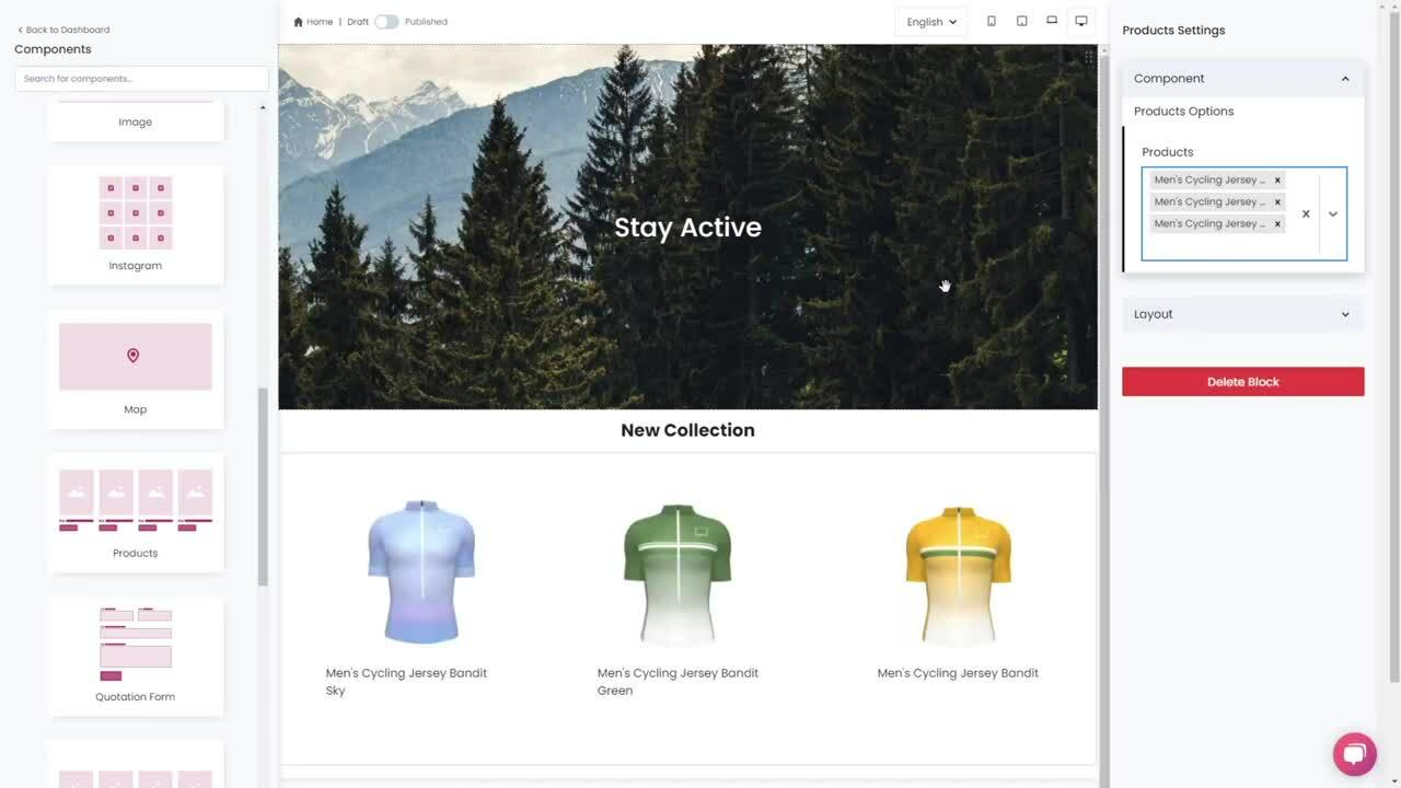 Build amazing websites for ecommerce and team stores with BRIKL