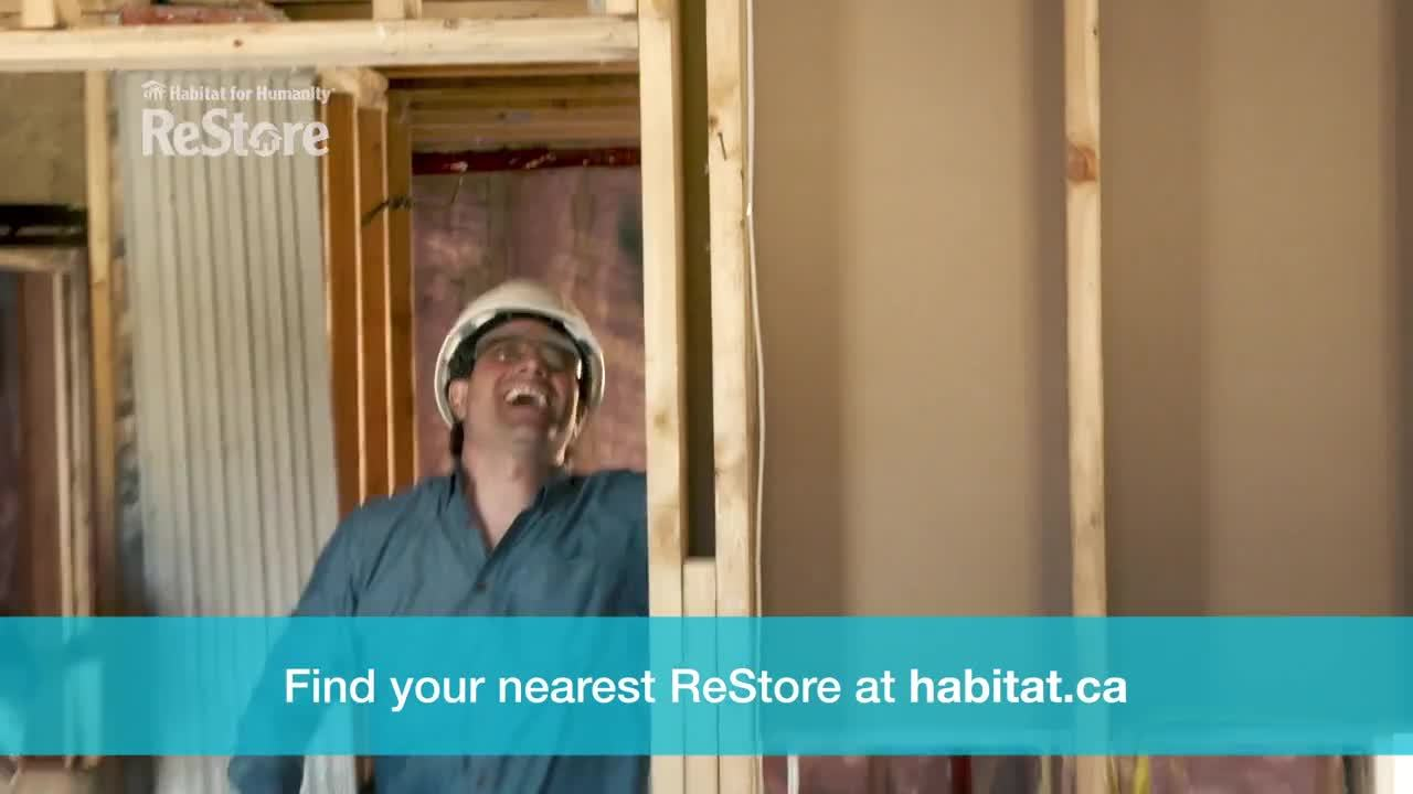 Scott McGillivray video PSA Why I Support ReStore (15 seconds)