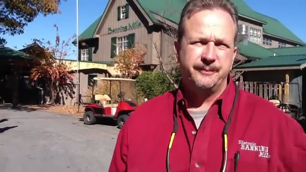 Mike Holder, Owner of Historic Banning Mills, Worlds Longest Zip line and Canopy Tour