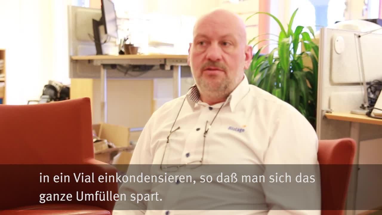 What is Biotage V-10 - Bernd Schnippenkötter