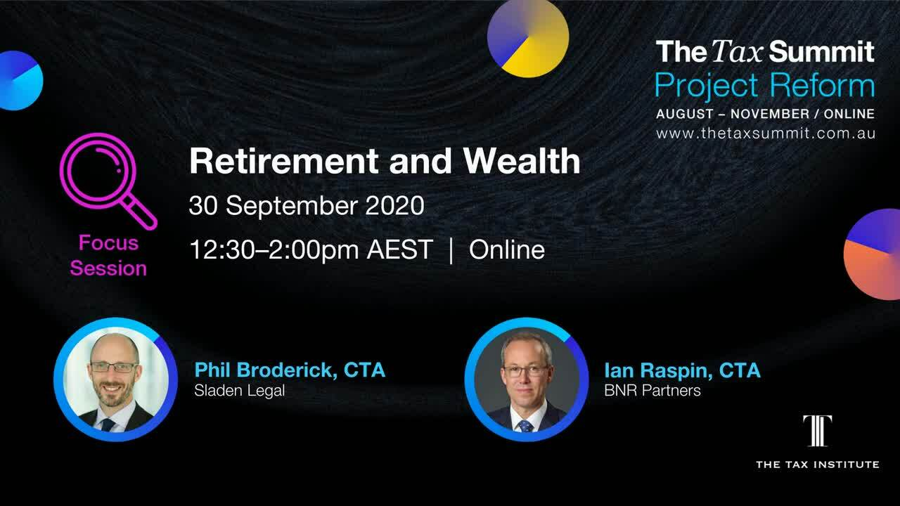 Retirement and Wealth Insight