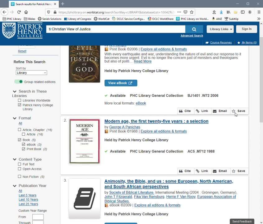 Request a Book by Interlibrary Loan