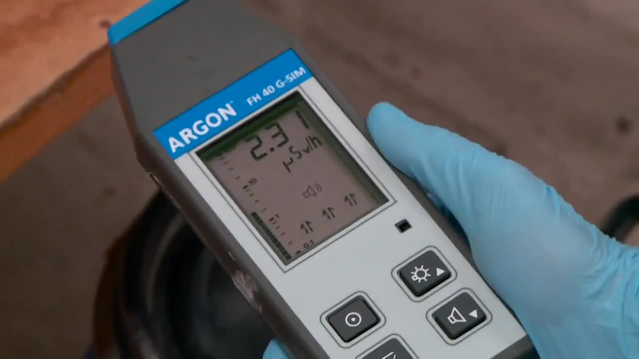 Argon FH 40 G Radiation Hazard Detection Simulator
