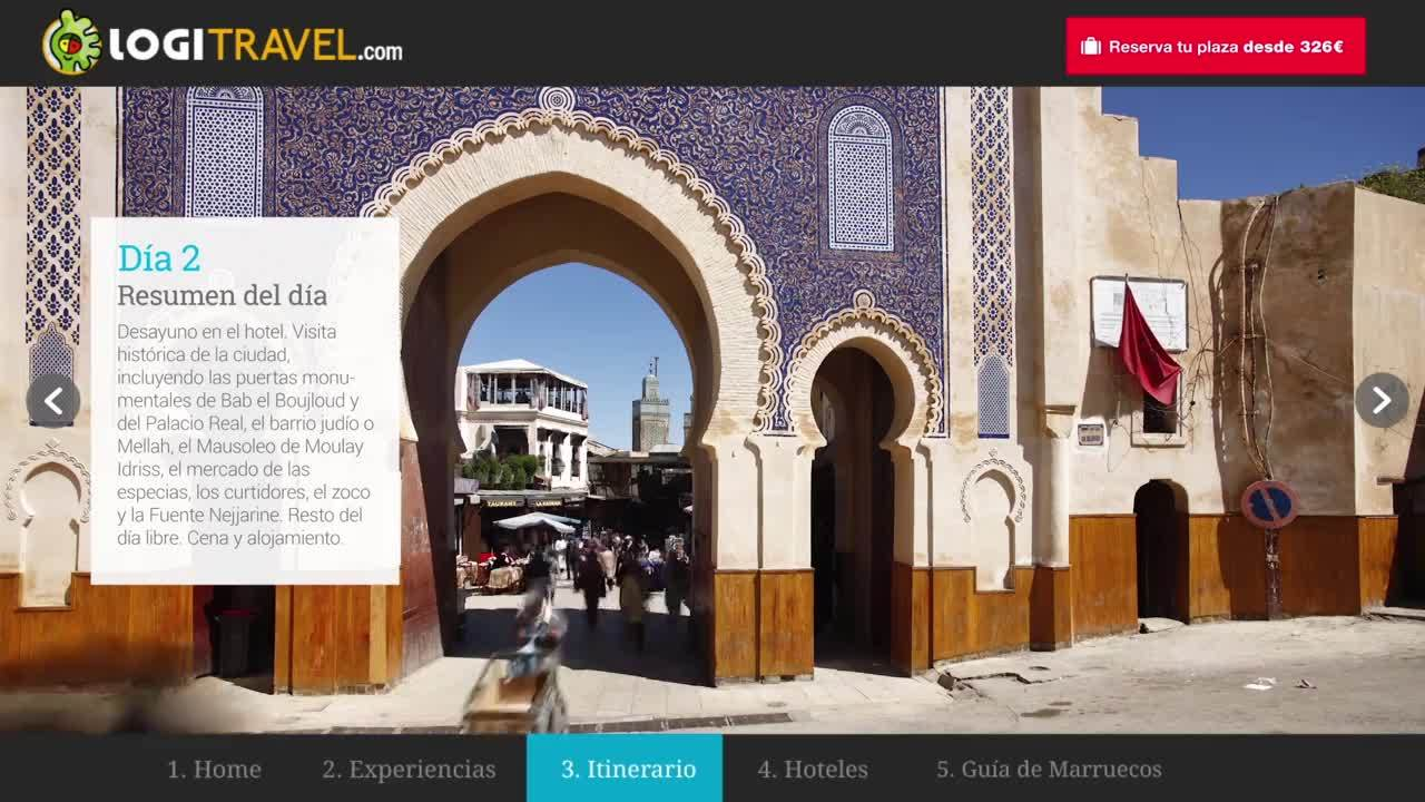 Logitravel - Video marketing de promoción destino Marruecos