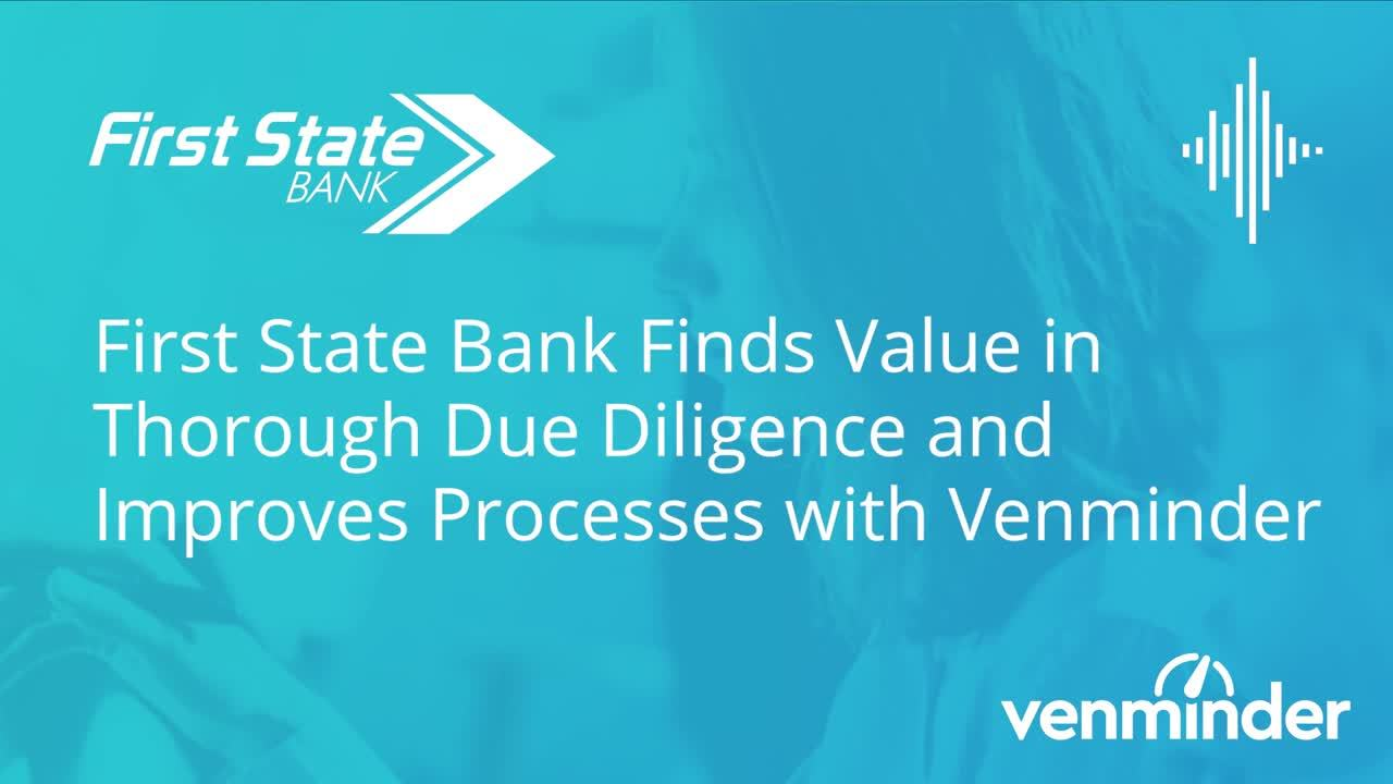 First State Bank Audio Case Study