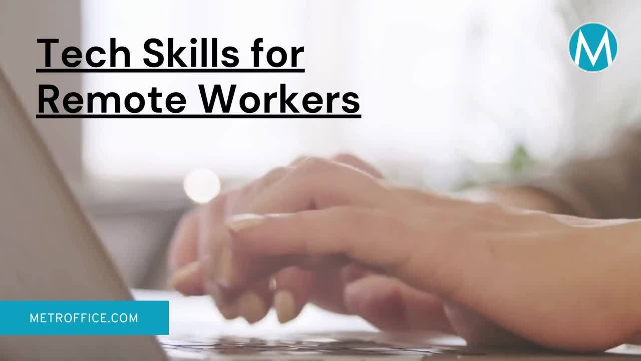 tech skills remote workers