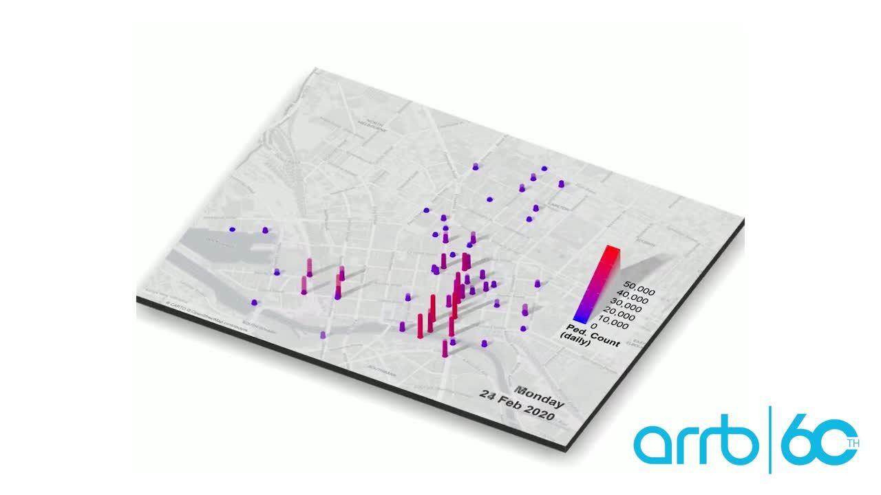 COVID-19 Transport demand visualisation video