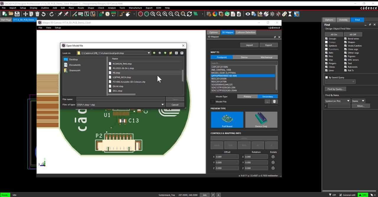 Seamless Multi-CAD 3D Model Integration
