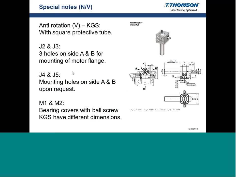 Screw Jacks 102 - Technical Specifications, Selection and