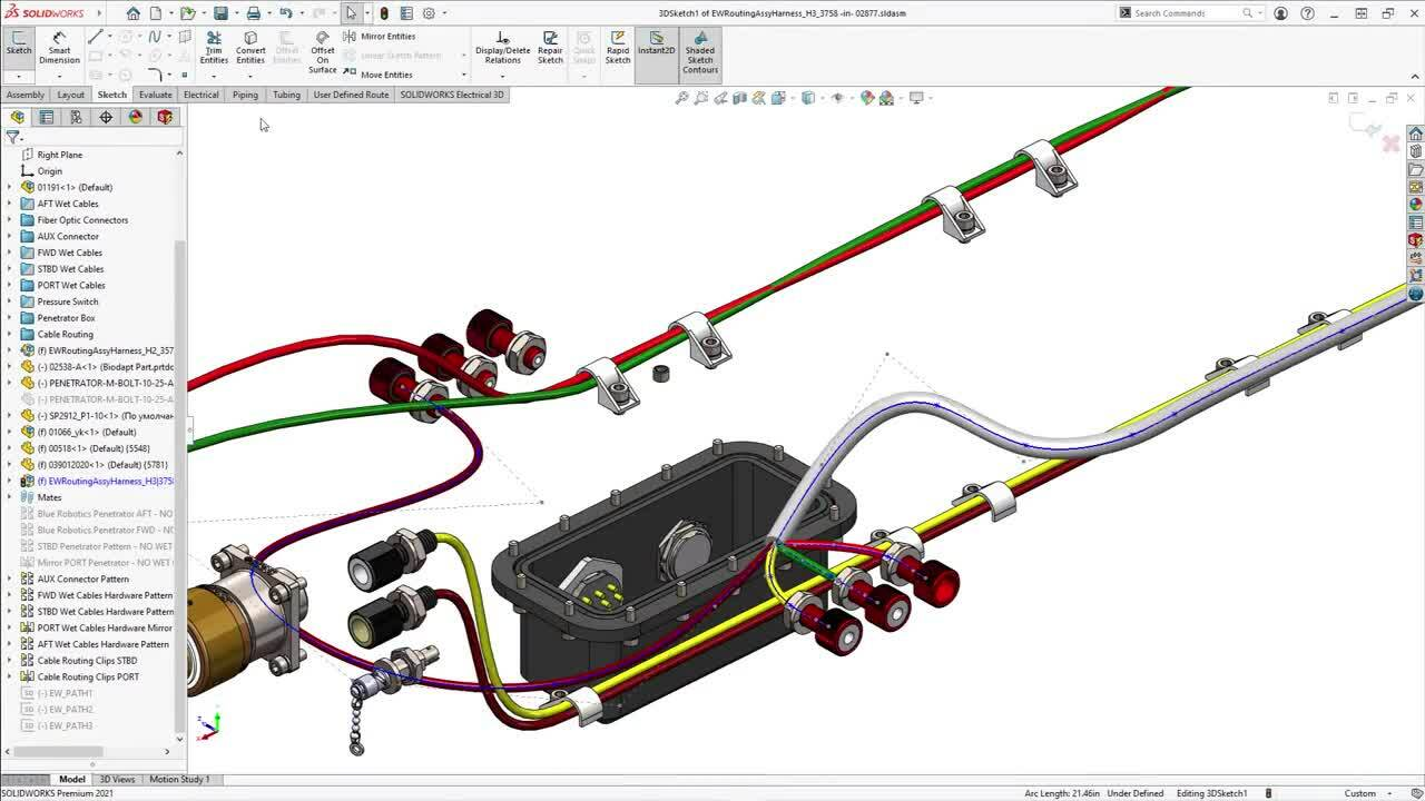 Whats New in SOLIDWORKS 2021 - Electrical