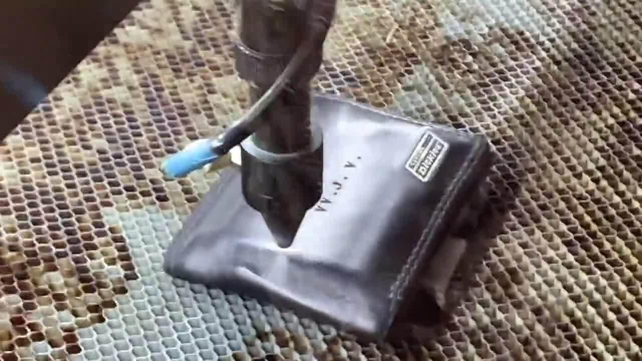 Wallet Engraving Video
