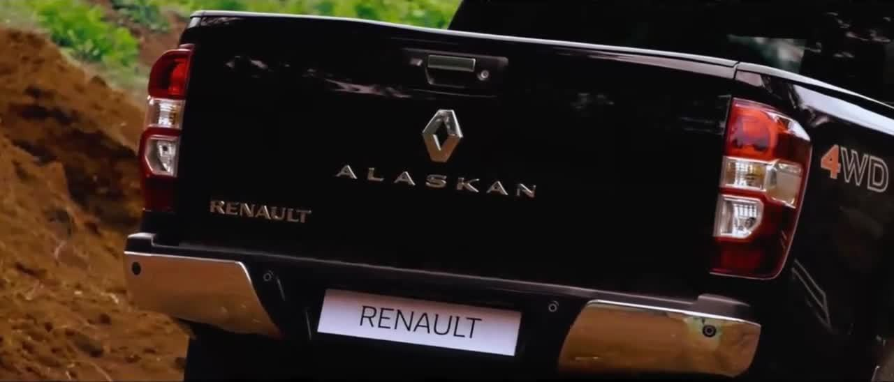 Insight pickup Renault Alaskan Guatemala video 2