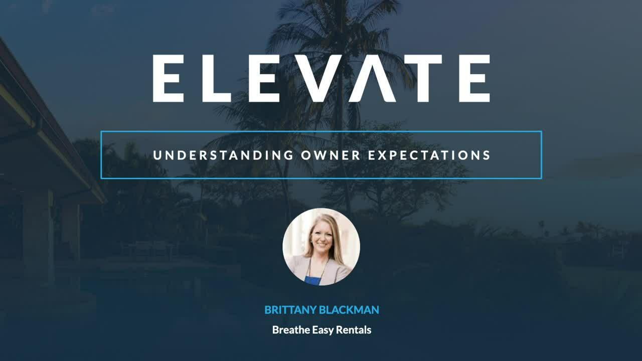 Understanding Owner Expectations