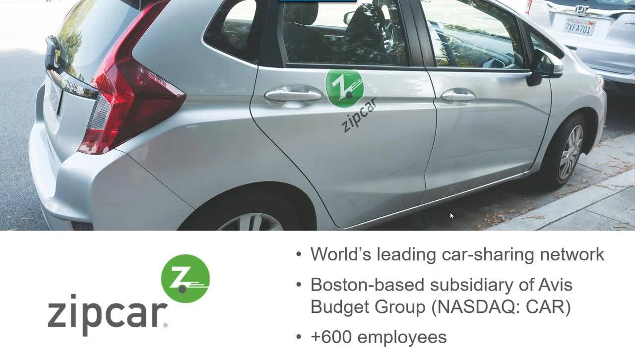 Screenshot for Customer Spotlight: Financial Modeling for Growth with Zipcar