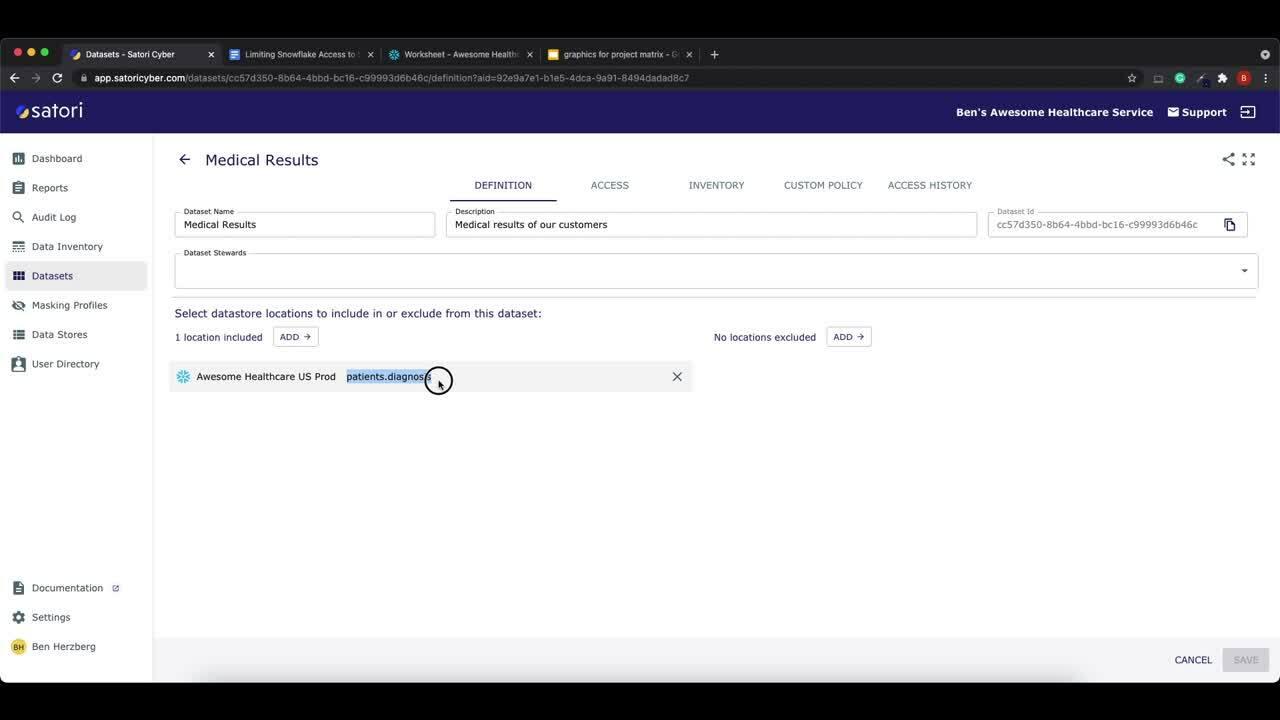 Client Tools Access Demo