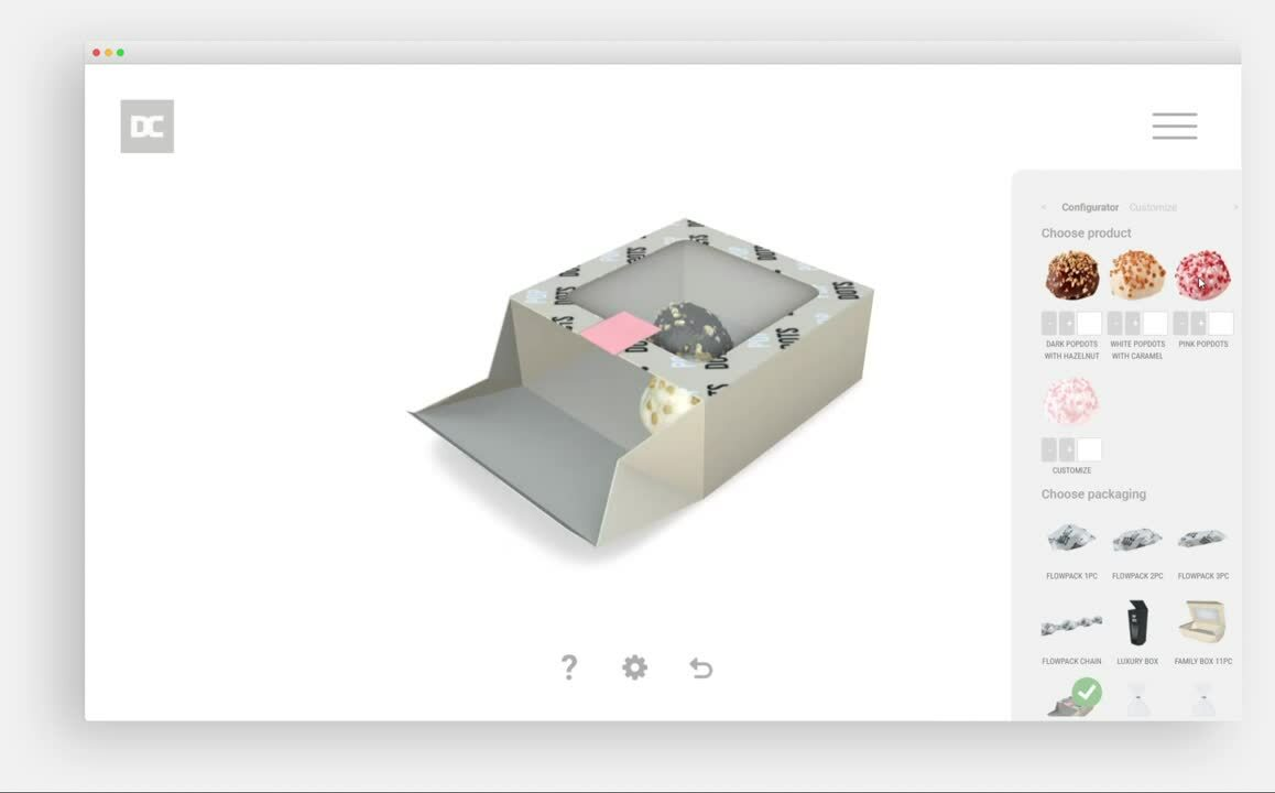 3D visualisatie configurator