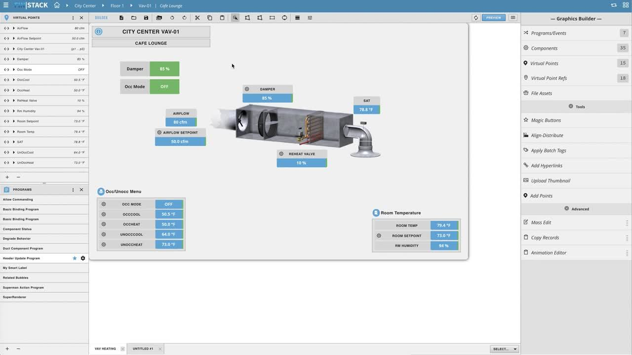 FIN Stack 4.5 - Graphics Builder - Creating A Basic Model