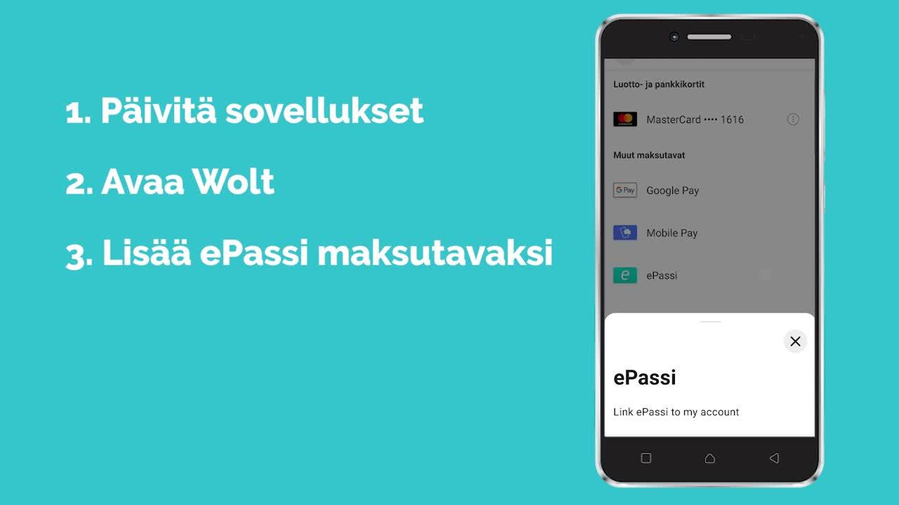 Wolt ePassi  1440 x 1080