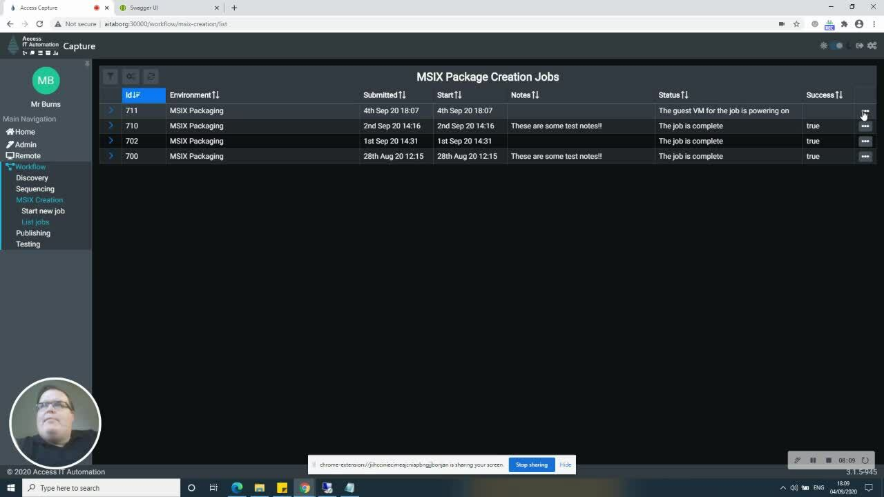 AccessCaptureAppAttachCreation