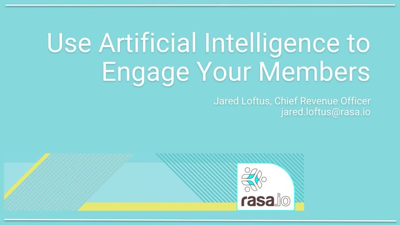 How Your Organization Can Use AI  to Increase Member Engagement Right Now - 5 min