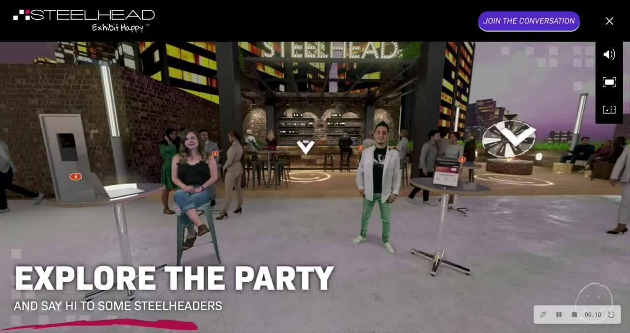 Virtual Environment - Rooftop Party v2