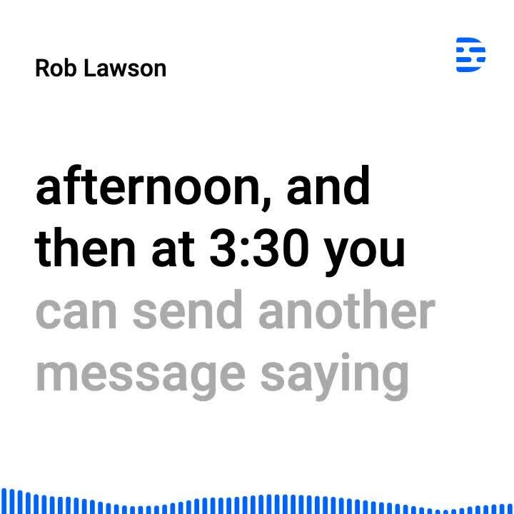 Rob Lawson - use to reach out to users