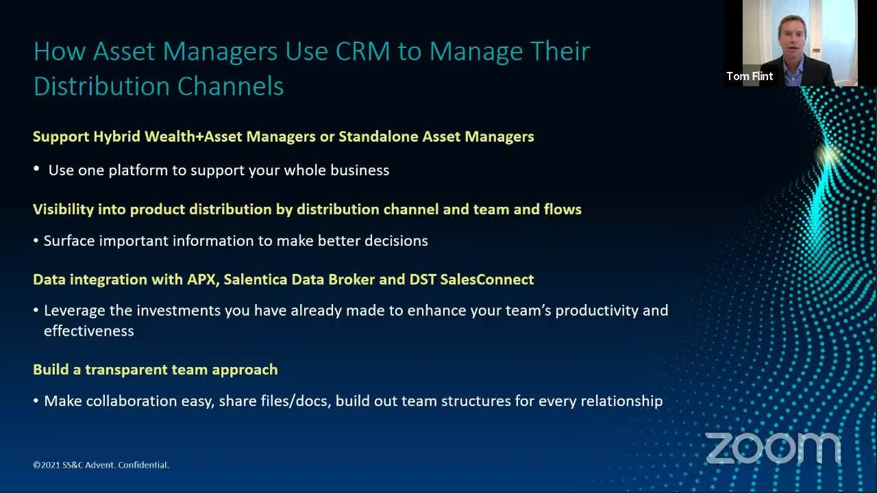 How Asset Managers Use CRM To Manage Their Distribution Channels
