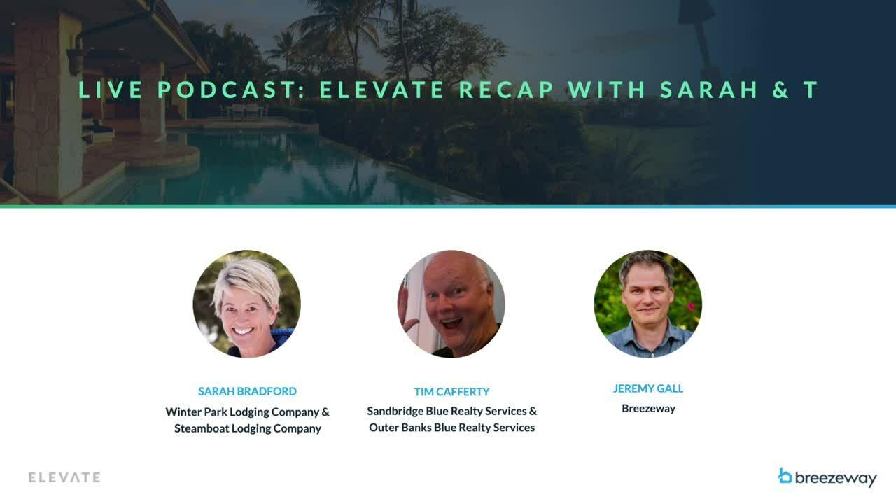 ELEVATE Recap with Sarah & T