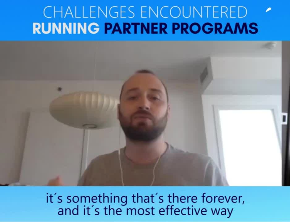 Challenges encountered running Partner Programs (V1)-1